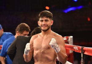 Santa Ana's Alexis Rocha improves to 4-0; Photo by Lina Baker/See You Ringside Photography