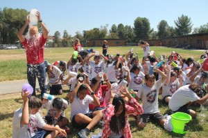Oswalt Academy students take the ALS Ice Bucket Challenge