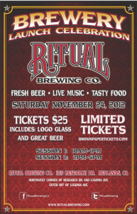 Ritual Brewing Co. launch celebration