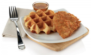 Chick-fil-A and Waffles