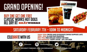 Bratworks Grand Opening