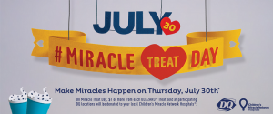 Miracle Treat Day 2015