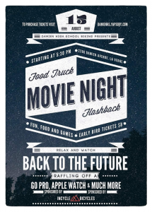 Damien Food Truck Movie Night
