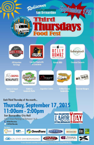SB Third Thursdays September 2015