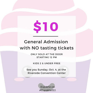 Cupcake Fair 2015 tickets