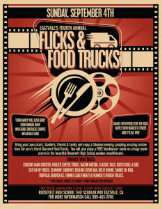 Eastvale Flicks and Food Trucks