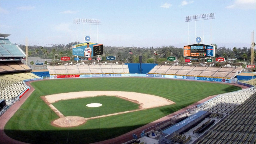 Dodger Stadium renovations
