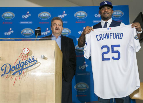 Ned Colletti, Carl Crawford