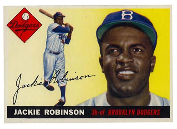 Jackie Robinsonbaseball card