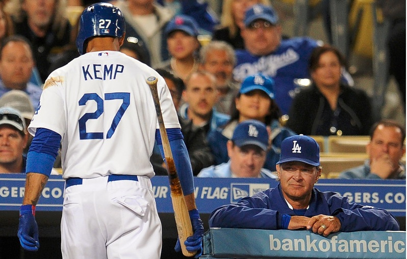 Matt Kemp Don Mattingly