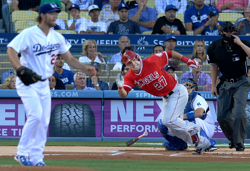 Mike Trout Clayton Kershaw