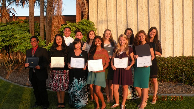 Students graduate from seminary at the Hacienda Heights Stake.