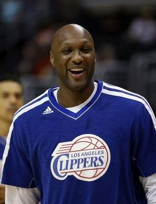Former Clippers forward Lamar Odom was arrested for allegedly driving under the influence early Friday, Aug. 30, 2013, after a CHP officer saw his white Mercedes-Benz traveling erratically on a San Fernando Valley freeway. The CHP says Odom, 33, was arrested after failing a field sobriety test. (AP Photo/Jae C. Hong, File)