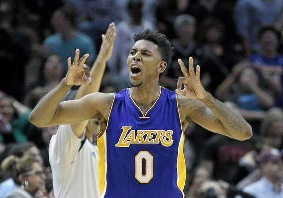 Nick Young says Lakers head coach Byron Scott has unfairly targeted him. (AP Photo/Eric Gay)