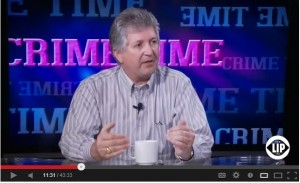 Frank Girardot speaks to Allison Hope Weiner on Lip TV's Crime Time