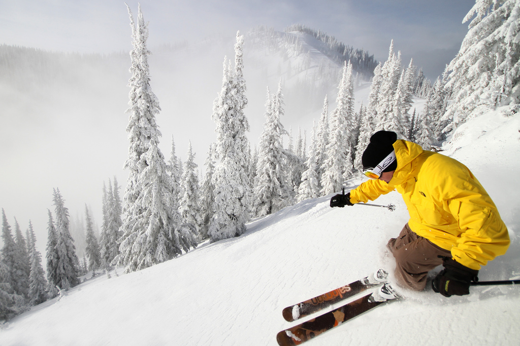 RED Mountain gets tons of fresh, dry powder every year. (Photo courtesy of RED Mountain)