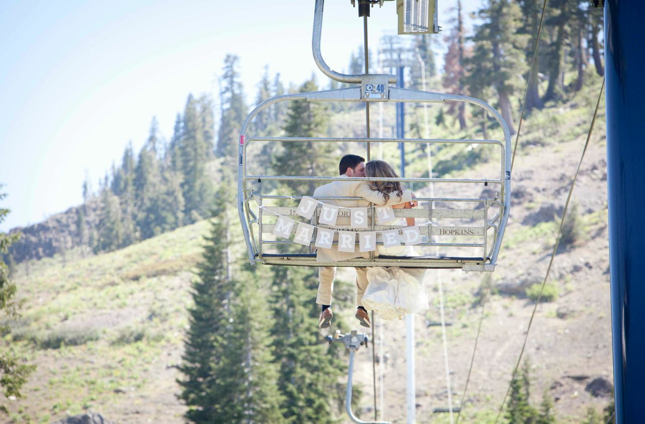 While offering skiing and snowboarding in the winter, Sugar Bowl also is a popular wedding venue throughout the year. (Sugar Bowl Resort photo)
