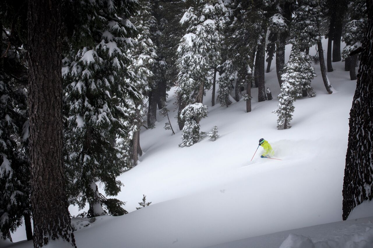 There's plenty to love about the skiing at Alpine Meadows, and once the gondola between the resort and Squaw Valley is operating it will open new opportunities for skiers and snowboarders at both resorts. (Photo courtesy Alpine Meadows)