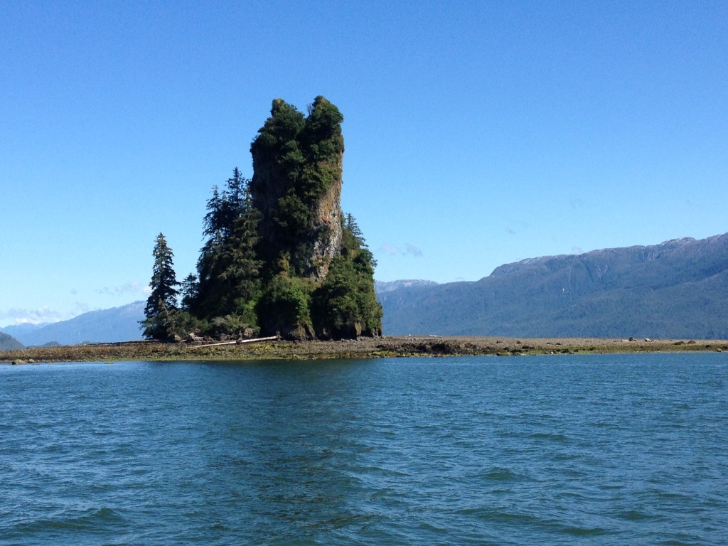 New Eddystone Rock pops up from Misty Fjord National Monument