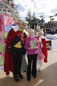 Florence Henderson with Whos at  Universal Studios Hollywood