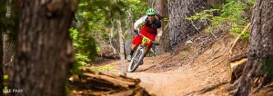 Mammoth Mountain Bike Park offers 80 miles of trail. (Photo courtesy of Mammoth Mountain)