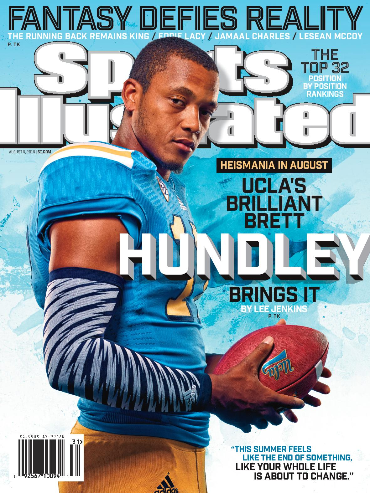 UCLA quarterback Brett Hundley graces the regional cover of Sports Illustrated.