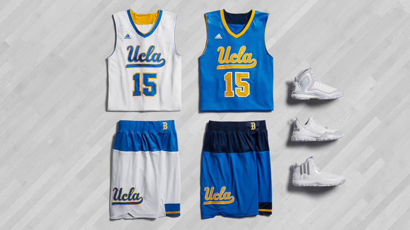 UCLA's new postseason alternate uniforms, which are far from the worse thing the Bruins have ever worn. (adidas)