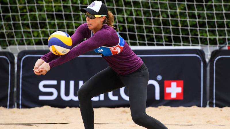 Lauren Fendrick will be making her first appearance in an Olympic Games. (Photo courtesy USA Volleyball)