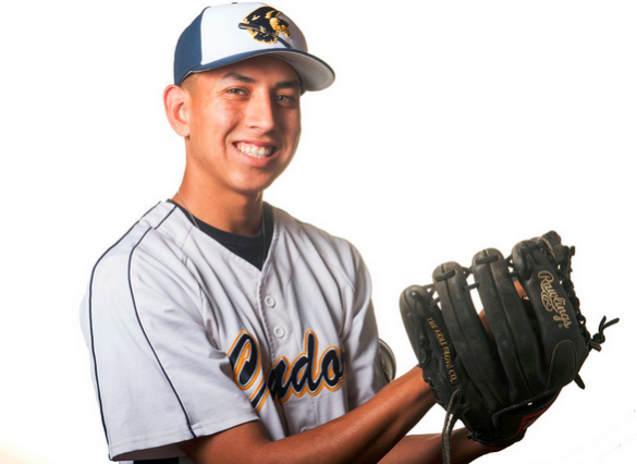 Daniel Alvarez from California High School was selected as the Whittier Daily News All-Area Baseball Player of the Year on Tuesday June 16, 2015. (Photo by Keith Durflinger/Whittier Daily News)