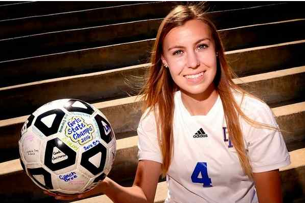 La Mirada's Maddie Bennett is 2016 Whittier Daily News Girls Soccer Player of the Year. (Photo by Keith Birmingham/ Pasadena Star-News)