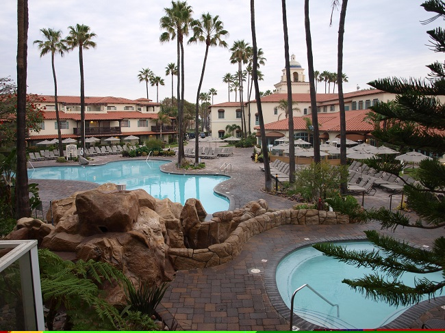 Beautiful Pools At Emby Suites In Oxnard Staff Photo By Karen Weber